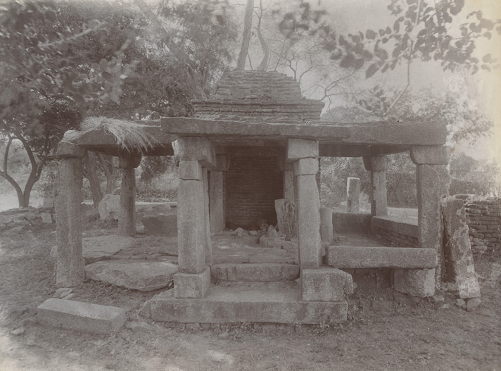 Ruined temple at Nayagaon, Jhansi District